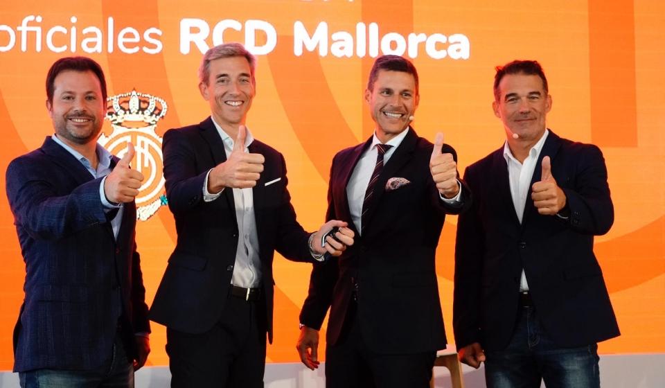 Equipo directivo RCD Mallorca y OK Mobility_2